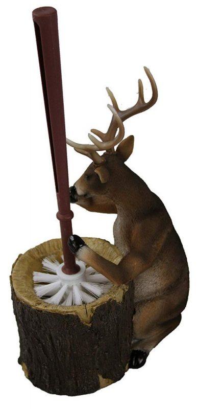 deer toilet brush holder