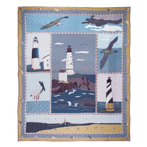 Patch Magic lighthouse quilt