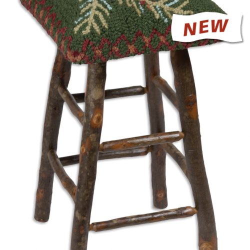 pine cone seat on bar stool