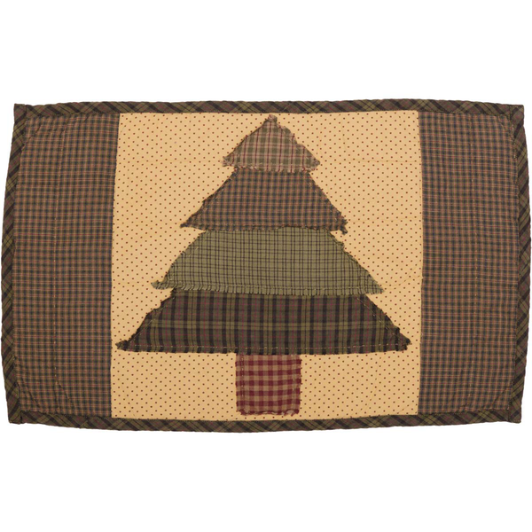 Sequoia quilted place mat