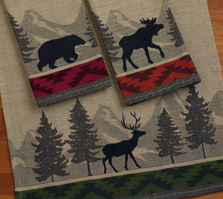 Walk in the Woods tea towels