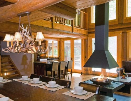 Chandelier Lights for Log Homes