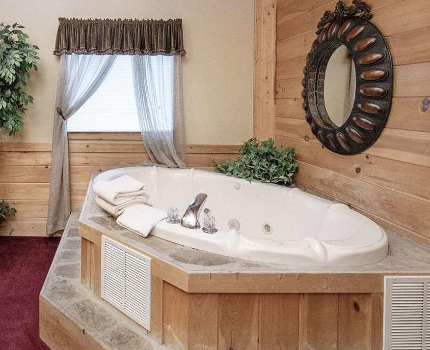 When you build a home, a large bathtub needs to be installed early